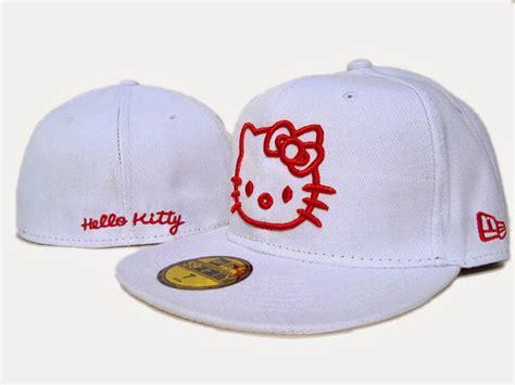 gambar topi  kitty lucu penutup kepala  kitty