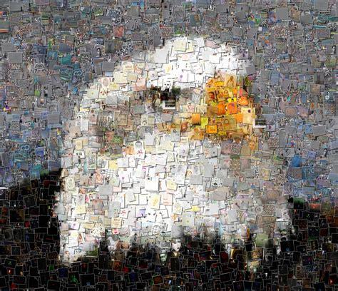 chaos mosaic picture fmedda foto mosaik edda