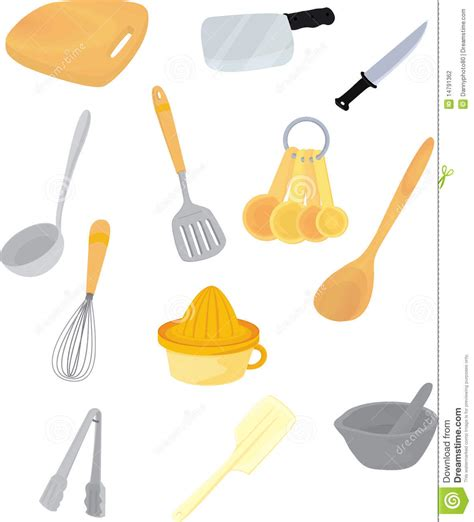 Kitchen Accessories Vector Free Kitchen Accessories Stock Photography Image 14791362