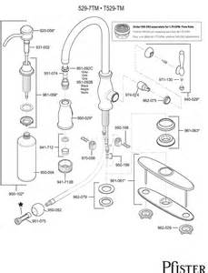 price pfister kitchen faucet repair manual 529 series hanover