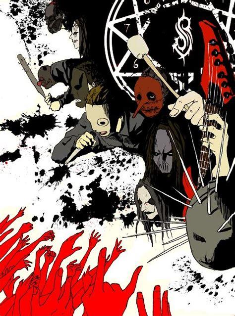 Kaos Band Slipknot High Quality slipknot band zerochan anime image board