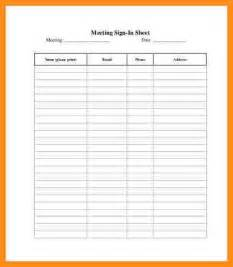 employee sign in sheet template free 5 employee sign in sheet template parts of resume