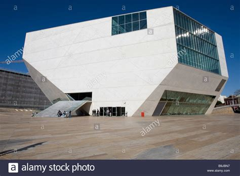 house music 2005 casa da musica house of music opera house finished in 2005 stock photo royalty free