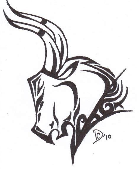 tribal bull tattoos tribal bull stencil by iellwen huzzah3 sabloane