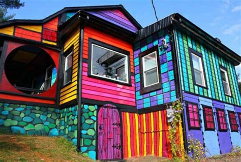 colorful houses painting 18 of the most colorful houses around the world