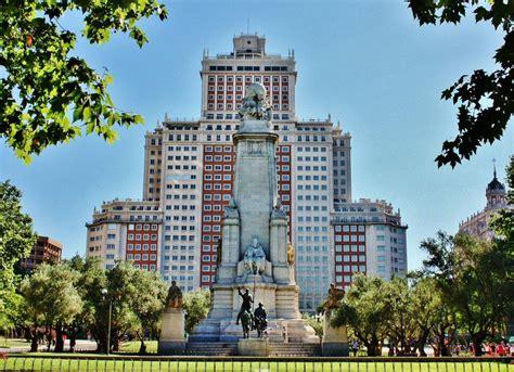 imagenes historicas españa monumento cervantes plaza de espa 241 a viajar a madrid