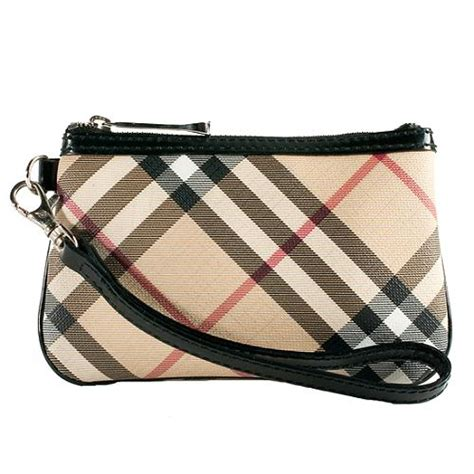 Burberry Wristlet by Burberry Check Flat Wristlet