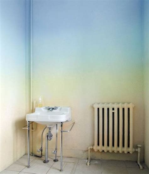 ombre wall 20 modern wall painting ideas watercolor and ombre
