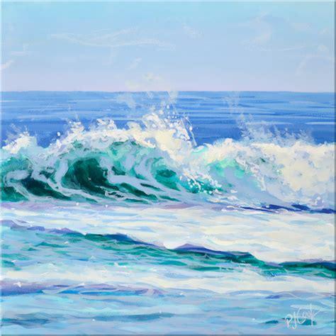acrylic painting waves wave 14 pj cook gallery of original
