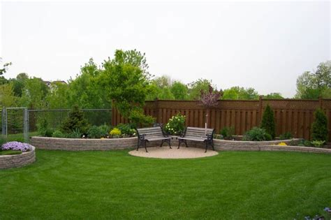 backyard landscape images home design and improvement