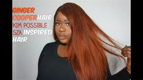 cajun spice hair color diy hair possible sza inspired hair color