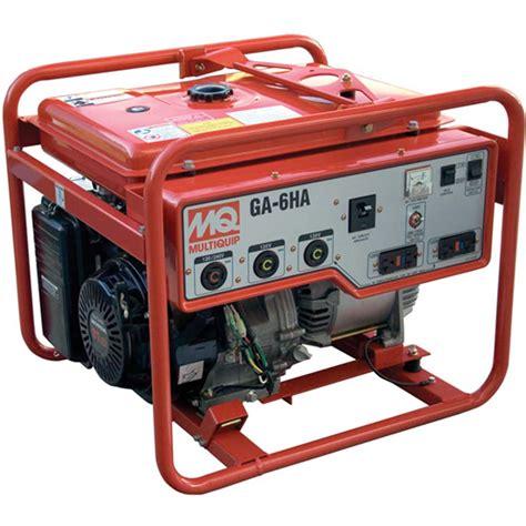 Multiquip Ga6hrs Honda Gx340 Generator 6 000w Contractors