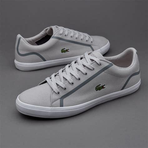 Sepatu Merk Lacoste sepatu sneakers lacoste lerond light grey