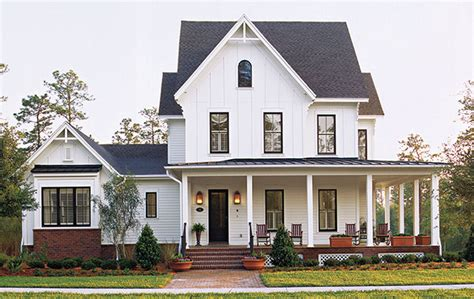 southern living house plans farmhouse kinsley place st joe land company southern living