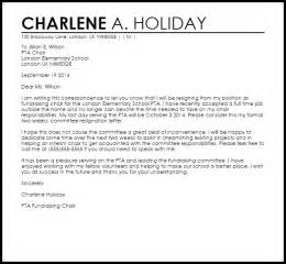 stepping from a position letter template committee resignation letter resignation letters