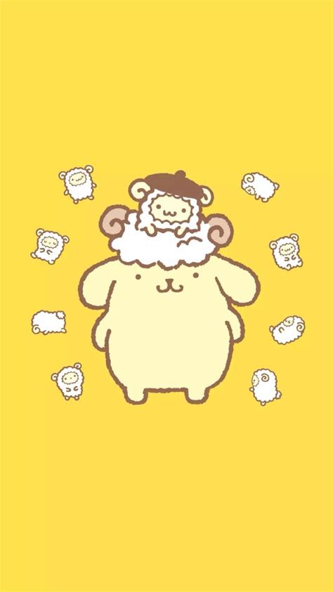 Pompompurin Wallpaper