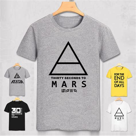 T Shirt 30 Second To Mars 3 buy 30 seconds to mars t shirt s sleeve printed