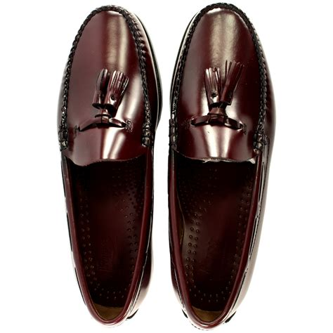 gh bass loafers uk mens g h bass larkin slip on tassel smart loafer