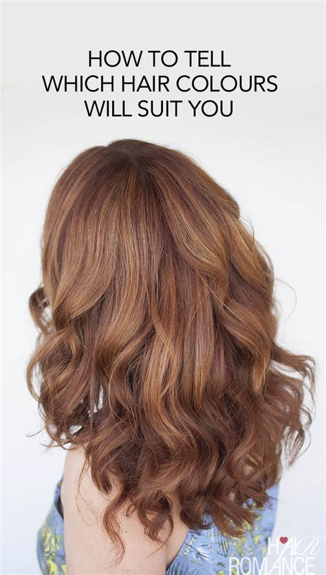 how to if you look with hair the easy way to find your perfect hair colour hair romance