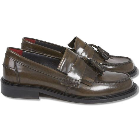 mod tassel loafers delicious junction mod retro 60 s leather tassel loafers