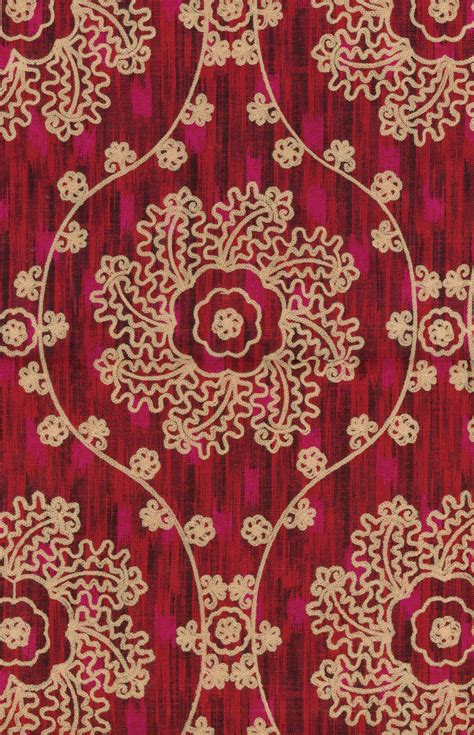 home decor print fabric iman mythical medallion