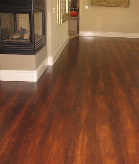 faux wood floors faux wood floors showcase beams