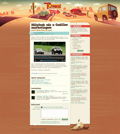 blogs for designers tcomment car blog design by floydworx on deviantart
