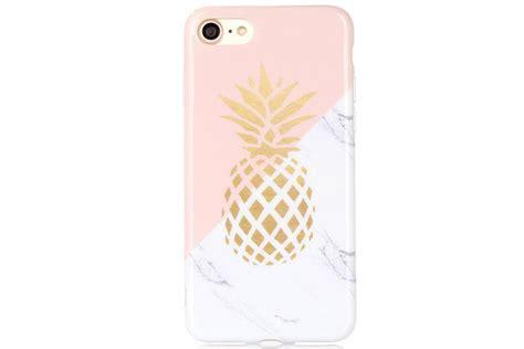 pineapple marble phone case luxylemon
