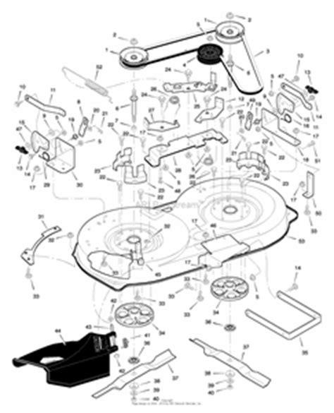yard machine mower deck diagram wiring diagram with