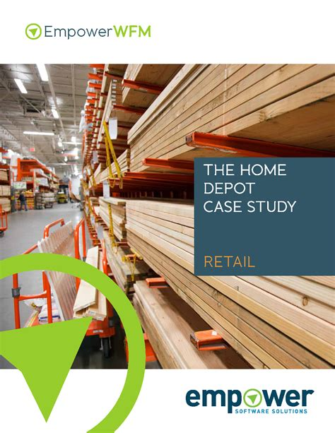 the home depot improves forecasting optimizes scheduling