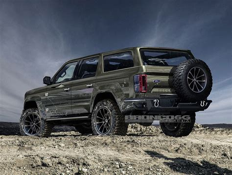 ford bronco 2020 4 door 4door 2020 ford bronco concept