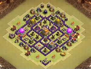 Best town hall 7 bases