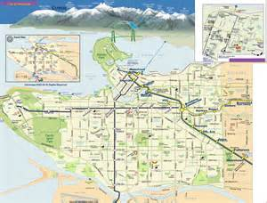 map of vancouver johomaps