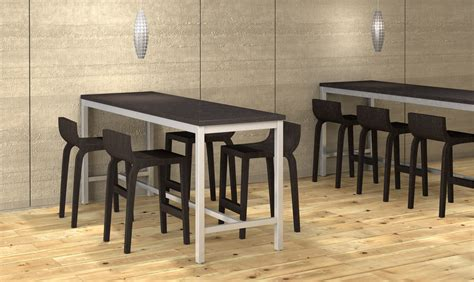 Bar Height Meeting Table Hi5 Table For Island Collaboration Area Wand Corp Pinterest