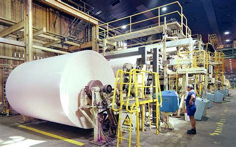 How To Make Paper In Factory - abb process solutions for pulp and paper plants
