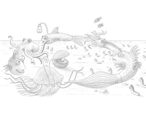 the pout pout fish coloring pages