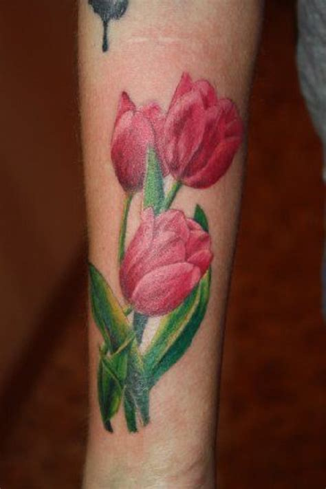 tulip and rose tattoo 50 tulip design ideas nenuno creative