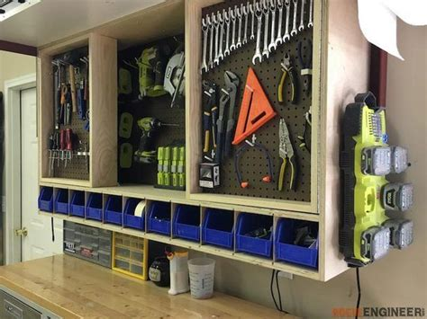 ryobi nation tool storage cabinet woodworking projects
