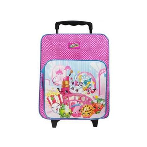 Shopkins Trolley 1 shopkins awesome trolley rugzak roze 12 x 28 x 35 cm blokker