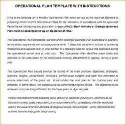 Business Operations Plan Template 11 Operational Plan Template Academic Resume Template