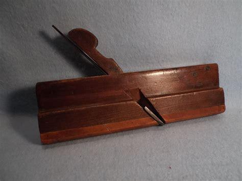 vintage  bottom wood plane woodworking tool