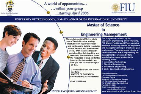 Fiu Mba Jamaica by New Page 1 Www Utech Edu Jm