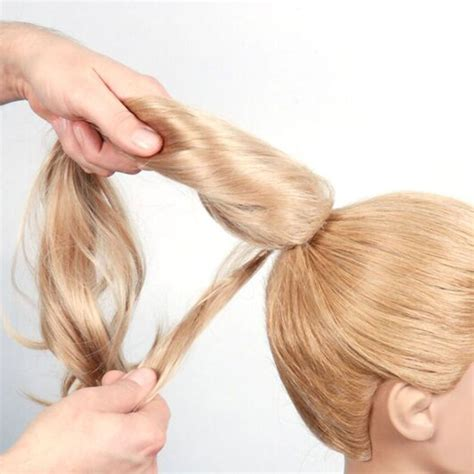 Hair Clip Poni Hairclip Poni ponytail clip in ponytail hair extensions for females adds length to hair
