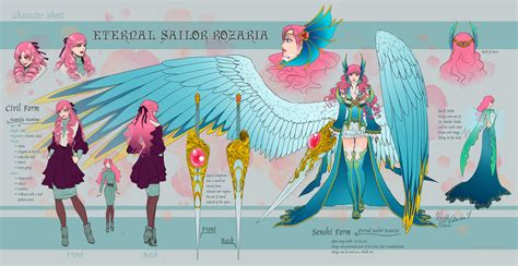 character sheet eternal sailor rozaria by valendra on