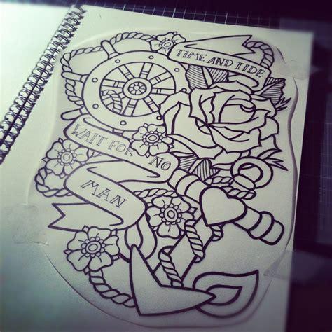 tattoos new school tumblr drawings of anchors tumblr anchor drawing tattoos