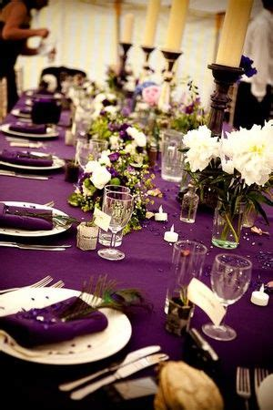 25 best ideas about purple tablecloth on plum wedding decor table clothes and