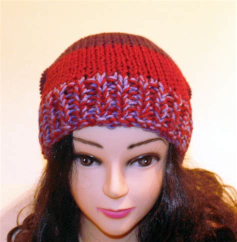 colorful hats colorful knit hat fall hat burgundy purple and wine