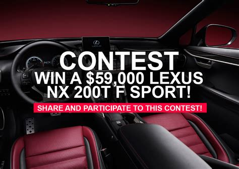 Rockauto Giveaway - win a lexus sweepstakes 2015 autos post