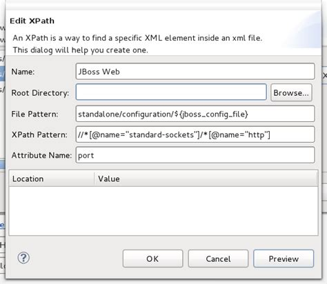 xpath name pattern jboss server manager reference guide