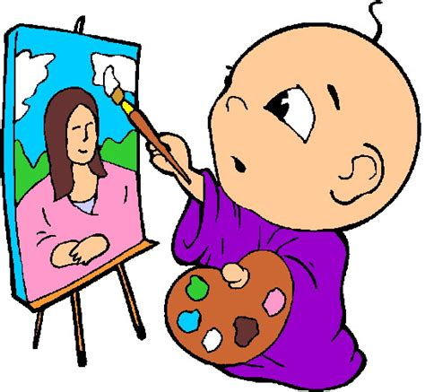 toddler painting free free paint clipart pictures clipartix